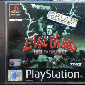 EVIL DEAD HAIL TO THE KING PAL ESPAÑA PLAYSTATION 1 PSX PS1 PSONE ENVIO 24H