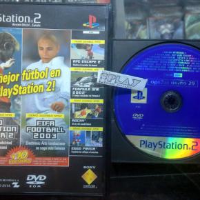 OPS2M DEMO 29 REVISTA OFICIAL PS2 PAL ESPAÑA SONY PLAYSTATION 2 ENVIO AGENCIA24H
