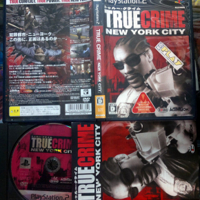 TRUE CRIME NEW YORK CITY JAPAN IMPORT MUYBUEN ESTADO PS2 PLAYSTATION 2 ENVIO 24H