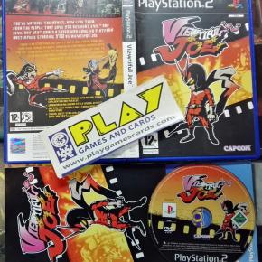 VIEWTIFUL JOE PAL UK  BUEN ESTADO PS2 PLAYSTATION 2 ENVIO CERTIFICADO / 24H