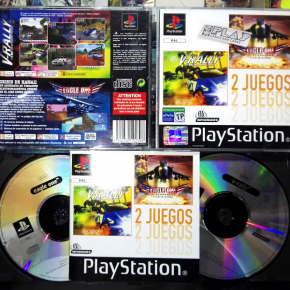 V RALLY 97 CHAMPIONSHIP EAGLE ONE HARRIER ATTACK PAL ESPAÑA PSX PLAYSTATION PS1