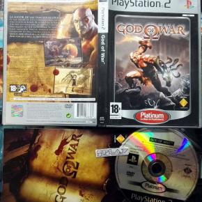 GOD OF WAR 1 PAL ESPAÑA MUY BUEN ESTADO PS2 PLAYSTATION 2 ENVIO CERTIFICADO/24H