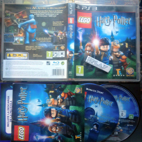 LEGO HARRY POTTER AÑOS 1-4 PS3 PAL COMPLETO BUEN ESTADO PLAYSTATION 3 ENVIO 24H