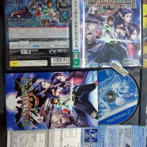 PHANTASY STAR UNIVERSE JAPAN COMPLETO MUY BUEN ESTADO PS2 PLAYSTATION 2 ENVIO24H