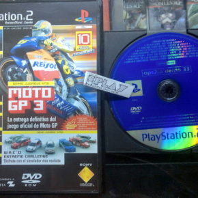 OPS2M DEMO 33 REVISTA OFICIAL PS2 PAL ESPAÑA SONY PLAYSTATION 2 ENVIO AGENCIA24H