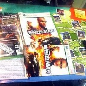 VIN DIESEL WHEELMAN WHEEL MAN XBOX 360 PAL ESPAÑA COMPLETO COMO NUEVO ENTREGA 24