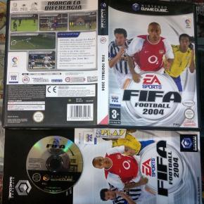 FIFA FOOTBALL 2004 SOCCER PAL ESPAÑA COMPLETO BUEN ESTADO GAMECUBE GAME CUBE GC