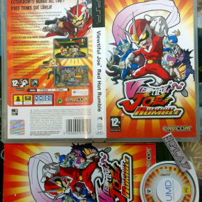 VIEWTIFUL JOE RED HOT RUMBLE PAL ESPAÑA COMPLETO BUEN ESTADO PSP CAPCOM ENVIO24H