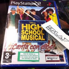 HIGH SCHOOL MUSICAL 3 CANTA CON ELLOS PS2 PLAYSTATION 2 PAL ESPAÑA NUEVO SEALED