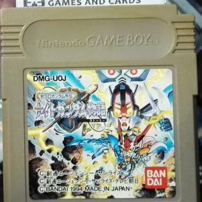 Shin SD Gundam Gaiden Knight Gundam Monogatari JAPAN GAME BOY GAMEBOY GB CLASSIC