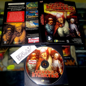 GRANDES INVASIONES LAS INVASIONES BARBARAS 350-1066 DC PC PAL ESPAÑA PC-CD INDIE
