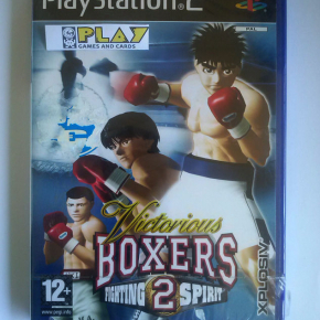 VICTORIOUS BOXERS FIGTHING SPIRIT 2 PLAYSTATION 2 PS2 PAL ESPAÑA NUEVO SEALED