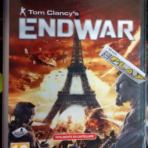 TOM CLANCY'S ENDWAR END WAR PAL ESPAÑA NUEVO SELLADO PC CD ROM ENVIO AGENCIA24H
