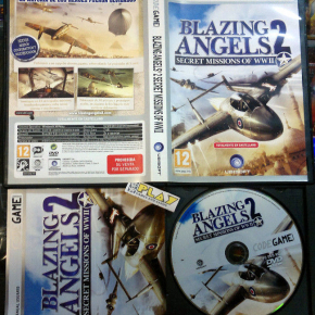 BLAZING ANGELS 2 SECRET MISSIONS OF WWII PAL ESPAÑA COMPLETO PC ENVIOCERTIFICADO