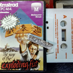 THE WAY OF THE EXPLODING FIST CINTA TAPE CASSETTE PAL ESPAÑA AMSTRAD ENVIO 24H