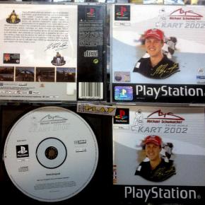 MICHAEL SCHUMANCHER RACING WORLD KART 2002 PAL ESPAÑA PLAYSTATION PSX PS1 PSONE
