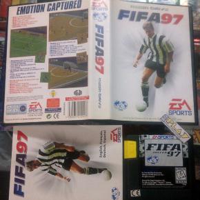 FIFA 97 1997 PAL ESPAÑA COMPLETO EN BUEN ESTADO MEGADRIVE MEGA DRIVE ENVIO 24H