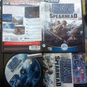 MEDAL OF HONOR ALLIED ASSAULT SPEARHEAD DISCO DE EXPANSION PAL ESPAÑA PC CD ROM