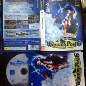 WINNING POST 6 NTSC JAPAN IMPORT COMPLETO PS2 PLAYSTATION 2 ENVIO AGENCIA 24H