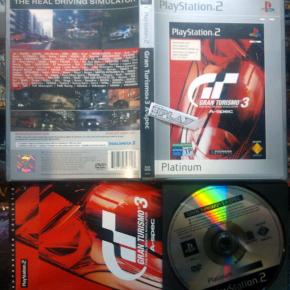 GRAN TURISMO 3 A-SPEC PAL ESPAÑA PS2 PLAYSTATION 2 ENVIO CERTIFICADO/ AGENCIA24H