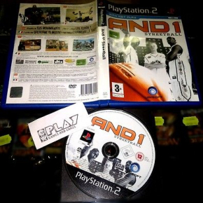 AND1 STREETBALL AND 1 STREET BALL PS2 PAL EN ESPAÑOL PLAYSTATION 2 ENTREGA 24H