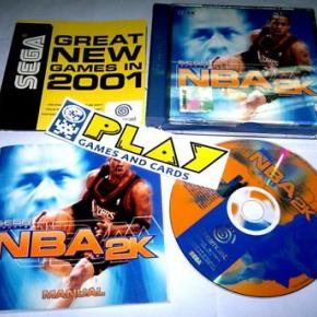NBA 2K 2000 SEGA SPORTS DREAMCAST PAL ESPAÑA COMPLETO ENTREGA AGENCIA 24 HORAS
