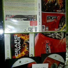PACK: GEARS OF WAR + PGR 4 XBOX 360 PAL ESPAÑA COMPLETO