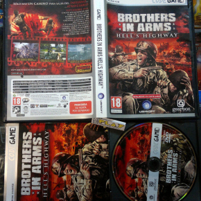 BROTHER IN ARMS HELL'S HIGHWAY PAL ESPAÑA COMPLETO PC CD ROM ENVIO CERTIFICADO