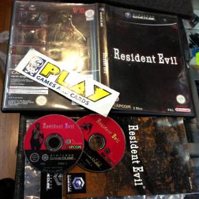 RESIDENT EVIL 1 REMAKE GAMECUBE GAME CUBE PAL COMPLETO BUEN ESTADO CAPCOM
