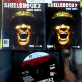 SHELLSHOCK 2 II BLOOD TRAILS PC PAL ESPAÑA COMPLETO COMO NUEVO MINT SHELL SHOCK
