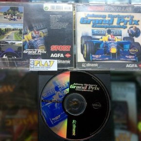SPORT FORMULA 1 JOHNNY HERBERT'S GRAND PRIX CHAMPIONSHIP PC CD ROM PAL ESPAÑA