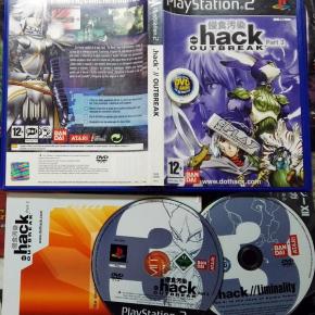 HACK OUTBREAK PART 3 PAL ESPAÑA COMPLETO PS2 PLAYSTATION 2 ENVIO CERTIFICADO/24H