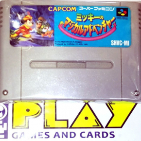 THE MAGICAL QUEST STARRING MICKEY MOUSE NO ADVENTURE SNES FAMICOM NES NINTENDO