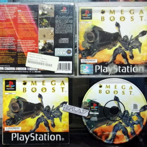 OMEGA BOOST PAL ESPAÑA SONY PSX PLAYSTATION PSONE PS1 ENVIO CERTIFICADO / 24H