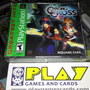 CHRONO CROSS PSX PLAYSTATION SQUARE 2 DISC NEW SEALED NUEVO PRECINTADO