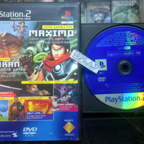OPS2M DEMO 18 REVISTA OFICIAL PS2 PAL ESPAÑA PLAYSTATION 2 ENVIO AGENCIA 24H