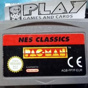 PACMAN PAC MAN NES CLASSICS PAL GAME BOY ADVANCE GBA ENVIO CERTIFICADO / 24H