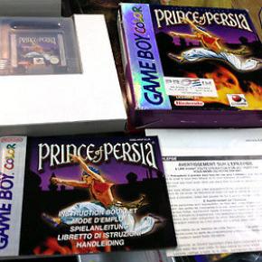 PRINCE OF PERSIA GAMEBOY GAME BOY COLOR PAL ESP PROEIN COMPLETO MUY BUEN ESTADO
