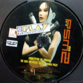 PSM 2 No 11 BONUS DVD DE REVISTA PSM2 PAL ESPAÑA SOLO DISCO PS2 PLAYSTATION 2