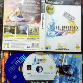 FINAL FANTASY X + BONUS DVD PAL ESPAÑA PS2 PLAYSTATION 2 ENVIO 24H 10 FF10 FFX