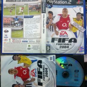 FIFA FOOTBALL 2004 PAL ESPAÑA COMPLETO SONY PLAYSTATION 2 PS2 ENVIO AGENCIA 24H