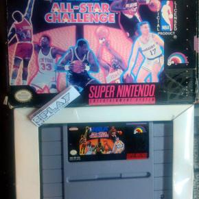 NBA ALL STAR CHALLENGE NTSC USA SUPER NES NINTENDO SNES EN BUEN ESTADO ENVIO 24H