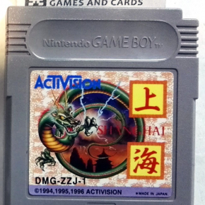 SHANGHAI ACTIVISION CARTUCHO JAPAN IMPORT GAME BOY GAMEBOY GB CLASSIC