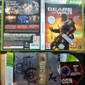 GEARS OF WAR 2 II PAL ESPAÑA BUEN ESTADO MICROSOFT XBOX 360 ENVIO AGENCIA 24H