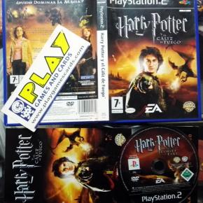 Harry POTTER Y EL CALIZ DE FUEGO PAL ESPAÑA COMPLETO PS2 PLAYSTATION 2