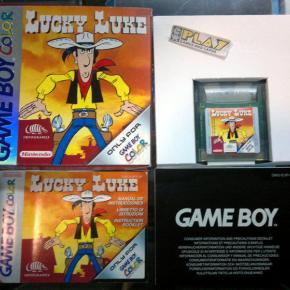 LUCKY LUKE PAL ESPAÑA COMPLETO BUEN ESTADO GAMEBOY GAME BOY GBC COLOR ENVIO 24H