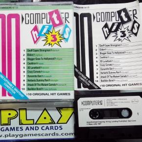 Computer Hits 3 Beau Jolly Commodore 64 128 - 10 juegos clásicos -