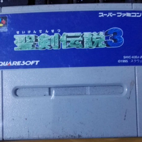 Seiken Densetsu 3 Secret of Mana 2 NTSC JAPAN SNES SUPER FAMICOM NES NINTENDO
