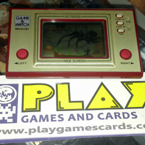 OCTOPUS GAME & WATCH HANDHELD MUY BUEN ESTADO 20291092 OC-22 1981 CLASSIC