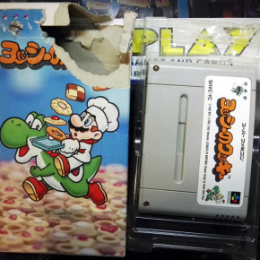 YOSHI'S YOSHI NO COOKIE NTSC JAPAN IMPORT SNES SUPER NES NINTENDO FAMICOM